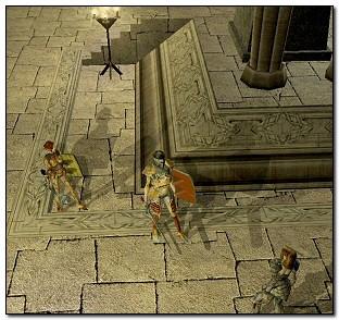 LUPTATOAREA ELFA - O grafica impresionanta adaugata frumusetii caracterelor dau savoare scenelor din Neverwinter Nights