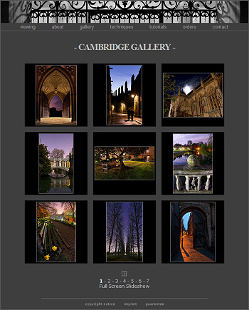 Cambridge in colour