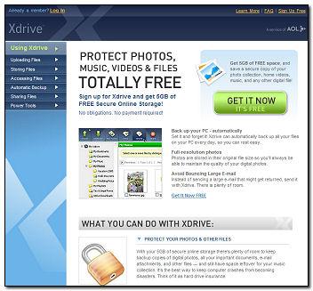 AOL XDrive