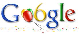 Google aniversare
