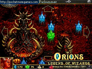 Free Orions: Legend of Wizards for Windows Mobile Download, Orions: Legend