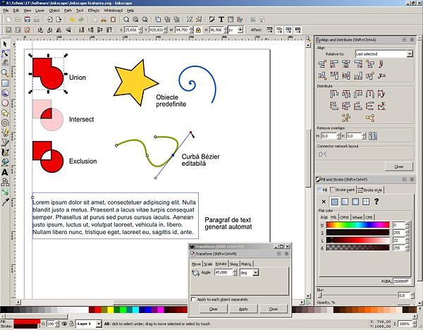 Inkscape O Alternativ Open Source La Coreldraw I Adobe